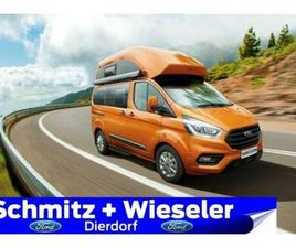 FORD CUSTOM NUGGET HOCHDACH 185PS AHK NAVI MARKISE