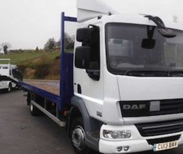 DAF45-220 2013 22FT4 FLAT 12 TON GROSS FOR SALE IN DOWN FOR £14750 ON DONEDEAL