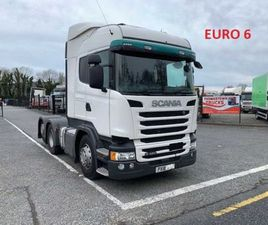 2018 SCANIA HIGHLINE R450 REAR LIFT TAG AXLE T/U FOR SALE IN LOUTH FOR €1 ON DONEDEAL