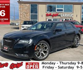 USED 2018 CHRYSLER 300 S   LEATHER   NEW TIRES   REMOTE START   HEATED SE