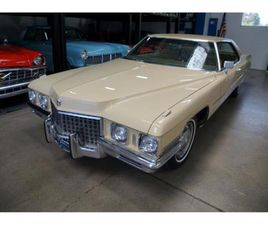 FOR SALE: 1971 CADILLAC DEVILLE IN TORRANCE, CALIFORNIA