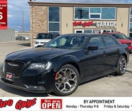 2018 CHRYSLER 300 S LEATHER NEW TIRES REMOTE START HEATED SE