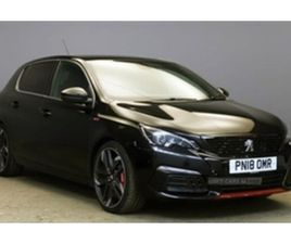USED 2018 PEUGEOT 308 GTI BY PEUGEOT SPORT HATCHBACK 24,737 MILES IN BLACK FOR SALE | CARS