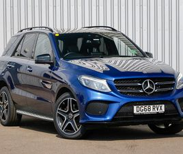 USED 2018 (68) MERCEDES-BENZ GLE GLE 250D 4MATIC AMG NIGHT ED PREM + 5DR 9G-TRONIC IN INVE