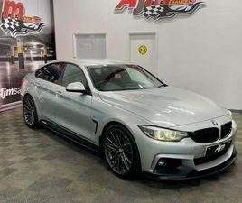 2018 67 BMW 4 SERIES 2.0 420D M SPORT GRAN COUPE 4D 188 BHP