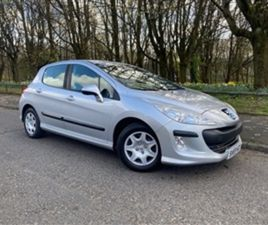 USED 2009 PEUGEOT 308 1.4 S 5D 94 BHP HATCHBACK 84,000 MILES IN SILVER FOR SALE | CARSITE