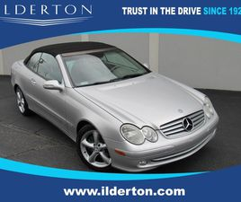 SILVER COLOR 2005 MERCEDES-BENZ CLK 320 FOR SALE IN HIGH POINT, NC 27260. VIN IS WDBTK65G4