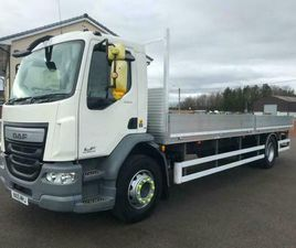 2015 DAF LF 55.220 18 TON 24FT NEW ALLOY DROP SIDE BODY EURO 6
