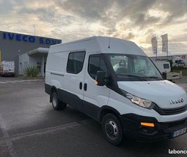 IVECO DAILY / 35-140 / FOURGON / 12M3 / 2018 / 140CH / 7 PLACES /