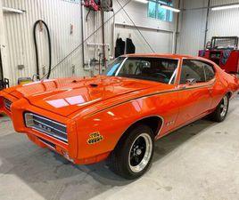 1969 PONTIAC GTO JUDGE   CLASSIC CARS   MONCTON   KIJIJI