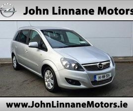 OPEL ZAFIRA 1.7 CDTI 125PS CLUB FOR SALE IN WICKLOW FOR €8,950 ON DONEDEAL