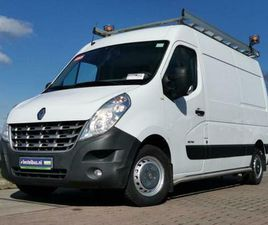 ② RENAULT MASTER 2.3 DCI 125 , AIRCO, NAV - CAMIONNETTES & UTILITAIRES