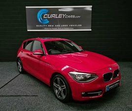 2014 BMW 1 SERIES 2.0TD 120D XDRIVE SPORT - £7,995