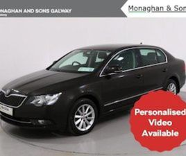 SKODA SUPERB AMBITION 1.6 TDI 105HP 4DR FOR SALE IN GALWAY FOR €13995 ON DONEDEAL