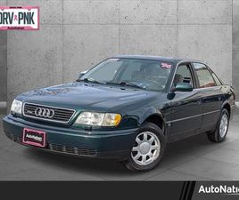 GREEN COLOR 1996 AUDI A6 FOR SALE IN CENTENNIAL, CO 80112. VIN IS WAUGC84A2TN065279. MILEA