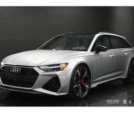 2021 AUDI RS 6 AVANT LEASE ONLY - 42 MONTHS $1995 / MTH 10% DOWN