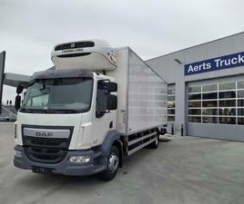 ② DAF LF 290 FA 16T - EURO 6 - KOELWAGEN - DAF CONNECT - CAMIONS