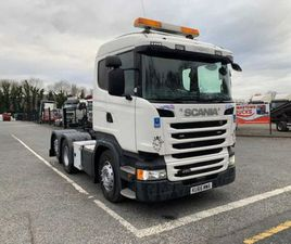 2017 SCANIA R450 6X2 REAR LIFT AXLE T/UNIT FOR SALE IN LOUTH FOR €1 ON DONEDEAL