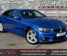 USED 2018 BMW 4 SERIES 2.0 190 BHP 420D XDRIVE M SPORT GRAN COUPE AUTO COUPE 69,000 MILES