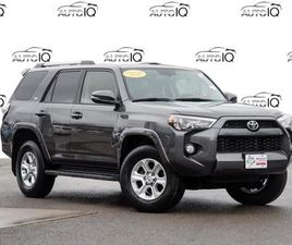 USED 2019 TOYOTA 4RUNNER SR5 LEATHER,   SUNROOF   NAVIGATION   ONE OWNER   7 PASS