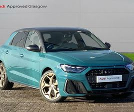 2019 AUDI A1 1.5 35 TFSI S LINE STYLE EDITION TRONIC - £24,899
