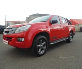 USED 2015 ISUZU D-MAX FURY D/C TWIN TURBO NOT SPECIFIED 56,000 MILES IN RED FOR SALE | CAR