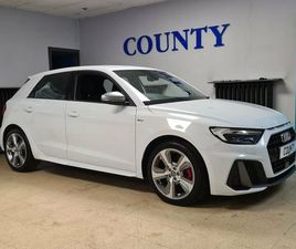 2019 AUDI A1 2.0 40 TFSI S LINE COMPETITION - £20,995
