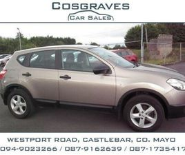NISSAN QASHQAI 1.5 DCI XE FOR SALE IN MAYO FOR €9,900 ON DONEDEAL