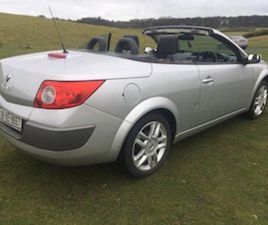 RENAULT MEGANE CABRIOLET 06 NEW NCT PLUS TAX FOR SALE IN KILDARE FOR €1150 ON DONEDEAL