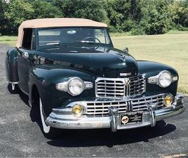 FOR SALE: 1947 LINCOLN CONTINENTAL IN ADAMSTOWN, MARYLAND