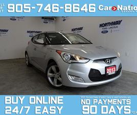 USED 2013 HYUNDAI VELOSTER 6 SPEED M/T   3DR COUPE   REAR CAM   TOUCHSCREEN