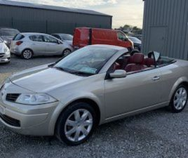RENAULT MEGANE 1.6 CABRIO..NEW NCT FOR SALE IN DUBLIN FOR €1699 ON DONEDEAL
