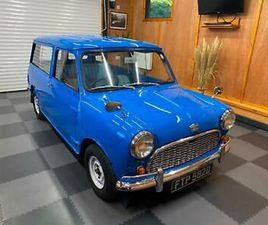 1966 AUSTIN MINI COUNTRYMAN