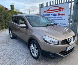 2012 QASHQAI +2 SAT NAV - GLASS ROOF FOR SALE IN CORK FOR €8950 ON DONEDEAL