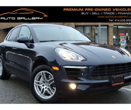 2015 PORSCHE MACAN S. AWD, CAR-FAX CLEAN, PANO ROOF, HEATED SEATS, BLUETOOTH, PWR. LIFTGAT