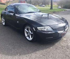 USED 2007 BMW Z4 3.0L Z4 SI SPORT COUPE 2D 262 BHP COUPE 94,279 MILES IN BLACK FOR SALE  