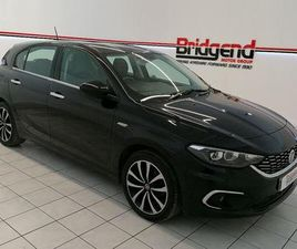 USED FIAT TIPO 2017 IN BLACK, AYRSHIRE