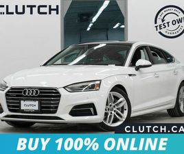 2019 AUDI A5 SPORTBACK KOMFORT AWD AWD W/ SUNROOF, HEATED SEATS, BACKUP CAM | CARS & TRUCK