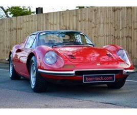 USED 1973 FERRARI 246 GTS CONVERTIBLE 57,086 MILES IN RED FOR SALE | CARSITE
