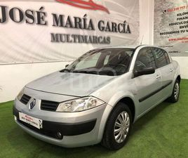 RENAULT - MEGANE SEDAN CONFORT AUTHENTIQUE 1.5DCI80
