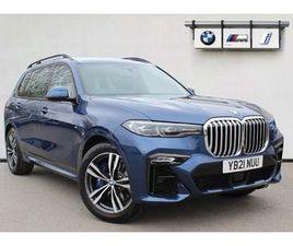 BMW X7 3.0 40D MHT M SPORT AUTO XDRIVE (S/S) 5DR