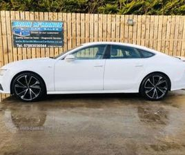 2012 AUDI A7 3.0TD S LINE (204PS) MULTITRONIC - £13,750