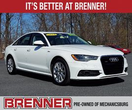 WHITE COLOR 2015 AUDI A6 PREMIUM PLUS FOR SALE IN MECHANICSBURG, PA 17050. VIN IS WAUFGAFC