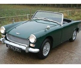 1963 EARLY MK2 AUSTIN HEALEY SPRITE IN BRITISH RACING GREEN THOUSANDS SPENT