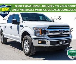 USED 2018 FORD F-150 XLT LOW MILEAGE CREW CAB