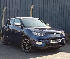 USED 2018 (18) SSANGYONG TIVOLI 1.6 D ELX 5DR 4X4 AUTO IN STIRLING