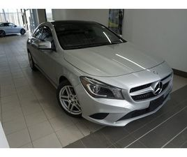 MERCEDES-BENZ CLA250 4MATIC COUPE 2016