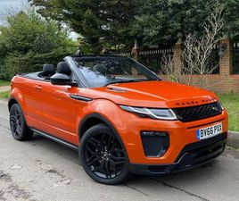 2016 LAND ROVER RANGE ROVER EVOQUE 2.0TD4 HSE DYNAMIC LUX (S/S) CONVERTIBLE 2D AUTO - £29,