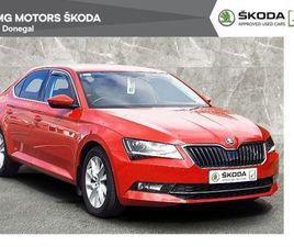 SKODA SUPERB 1.6TDI 120BHP STYLE 2 YEAR WARRANTY FOR SALE IN DONEGAL FOR €21,900 ON DONEDE