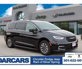 BRAND NEW BLACK COLOR 2021 CHRYSLER PACIFICA HYBRID TOURING-L FOR SALE IN SILVER SPRING, M